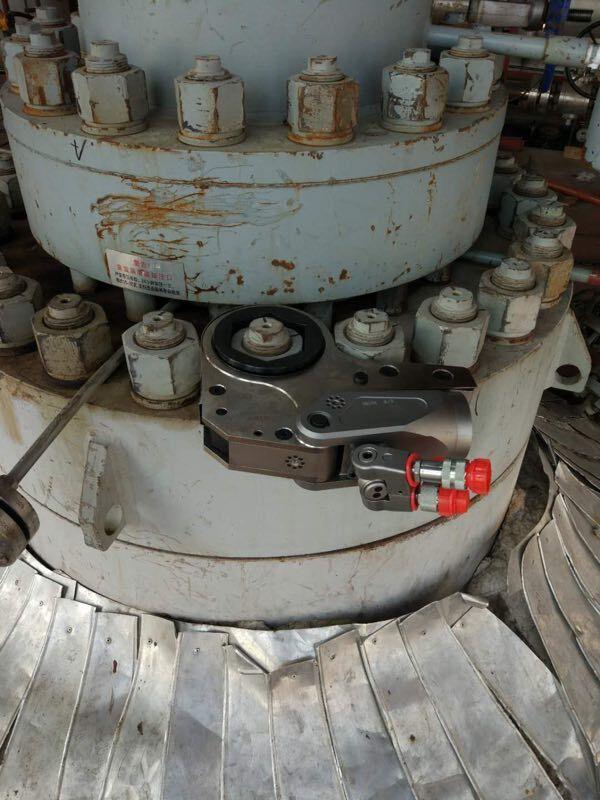 山东某化工企业之异丁烯项目MTBE单元订购拜尔液压扳手