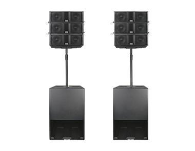 三分频6.5″流动线阵音响系统 LT06M