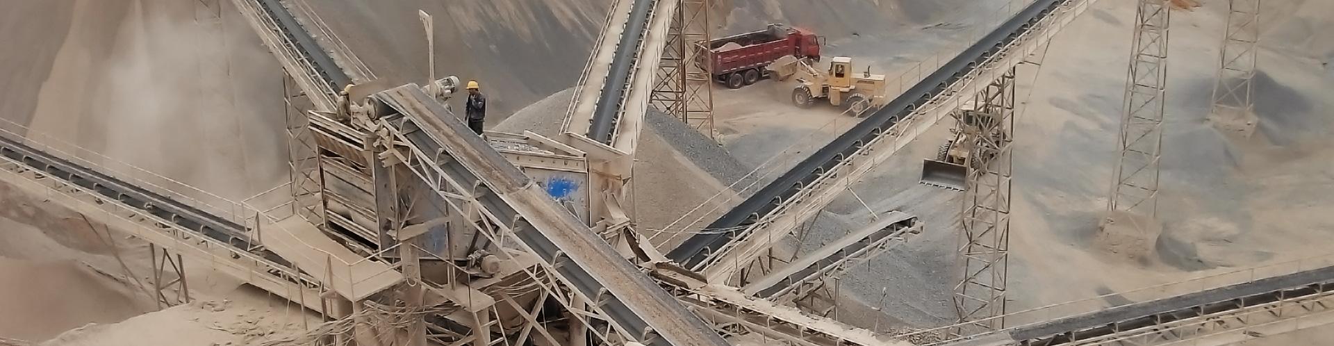 埃及客戶時產150-450噸石料生產線
