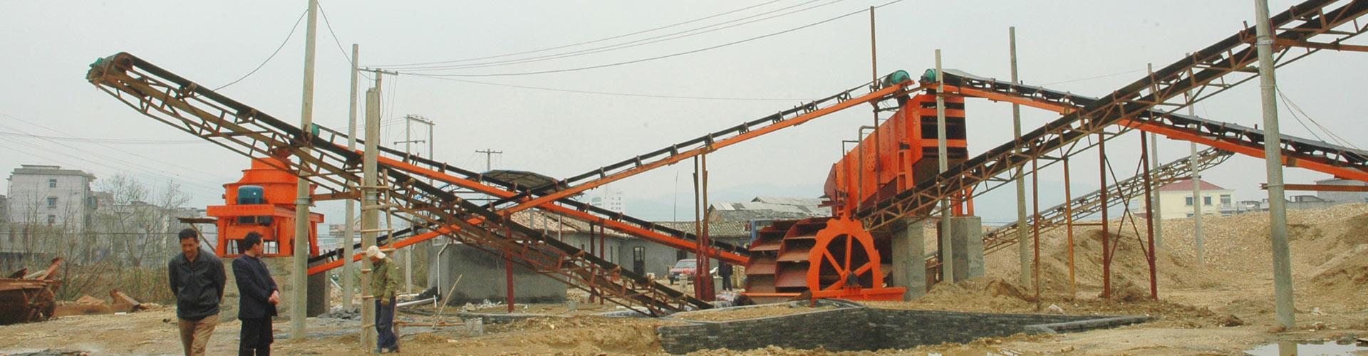 朝鮮時產120噸破碎製砂生產線