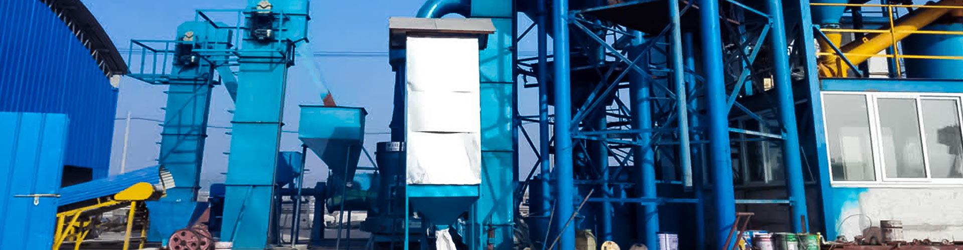 江蘇淮安時產50噸鋼渣磨粉生產線