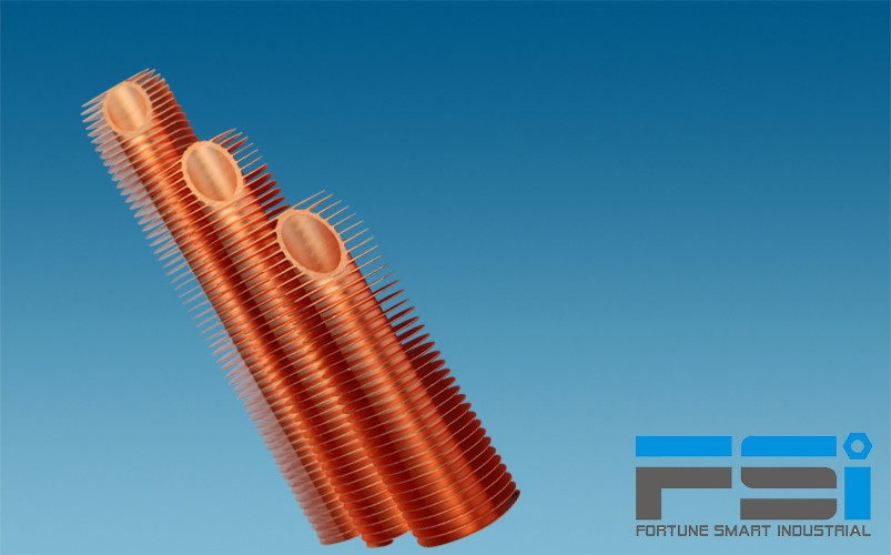 Copper Finned Tubes7