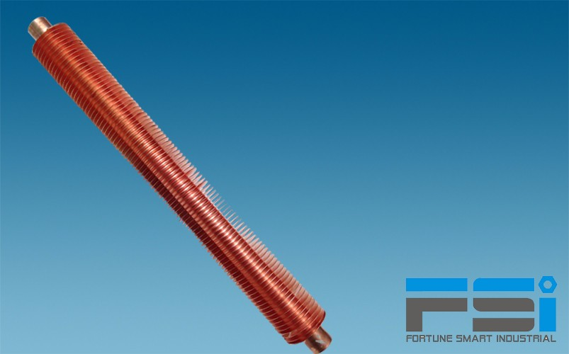 Copper Finned Tubes10