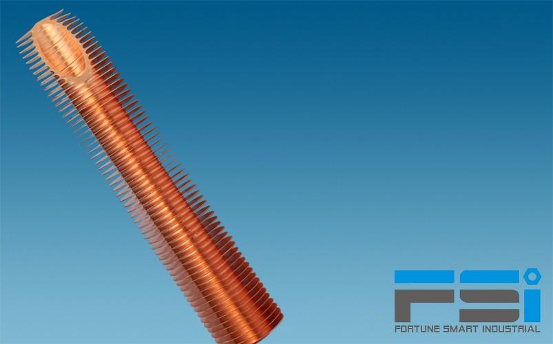 Copper Finned Tubes12
