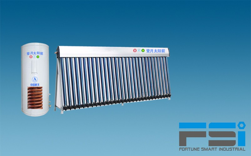 Copper Coiling Finned Tubes Solar Water Heater4