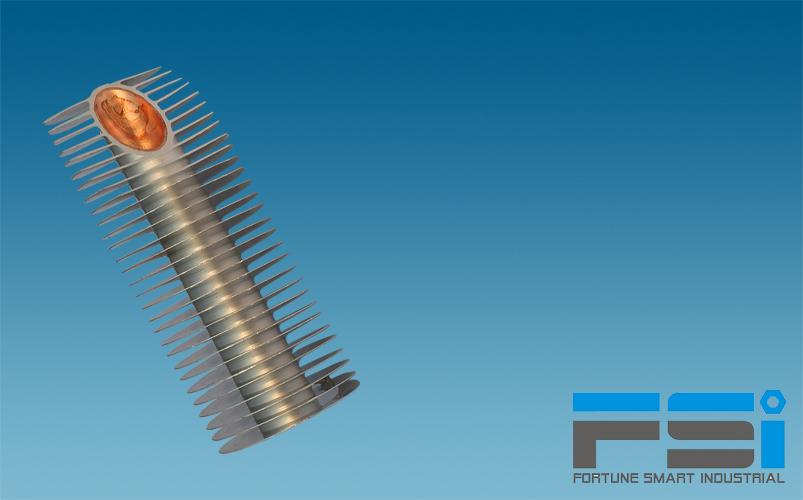 Copper & Aluminum Finned Tubes
