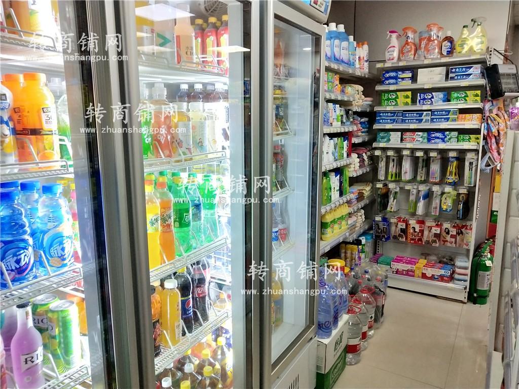 大型小区门口第一家盈利超市转让