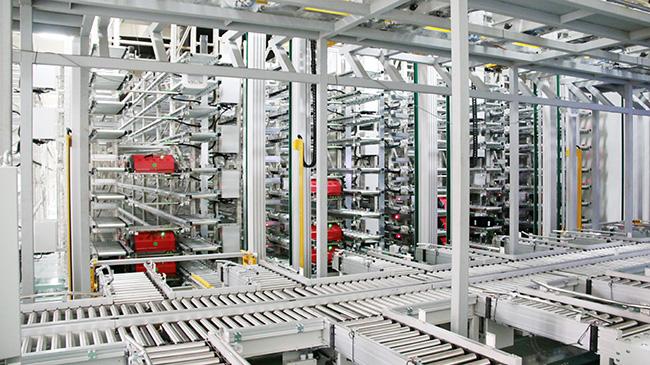 多层穿梭车智能案例分享丨乐虎国际登陆储存多层穿梭车密集存储 极大提升了存储、分拣效率