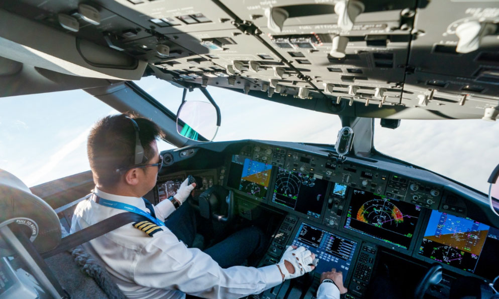 空勤項目飛行員