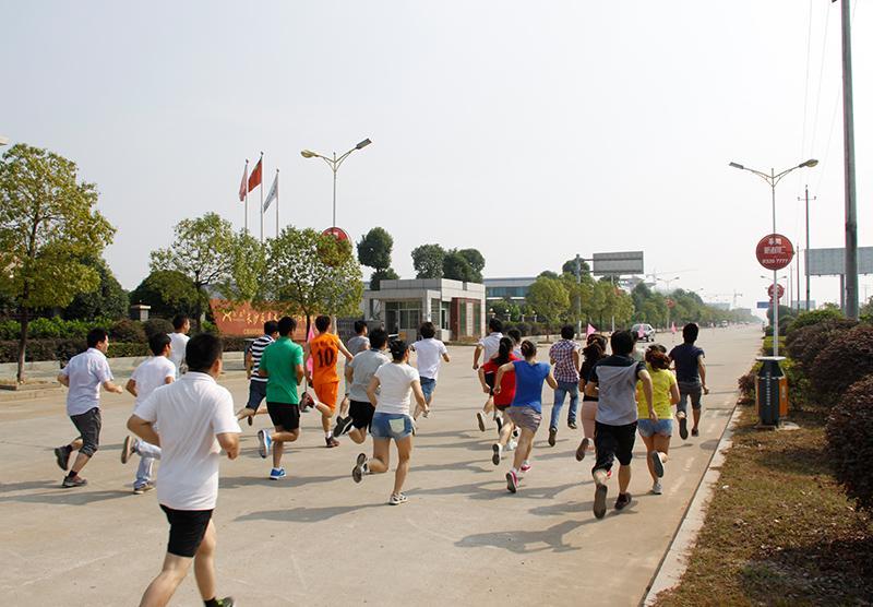运动会-长跑