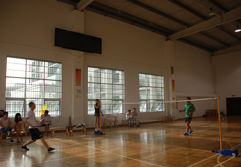 运动会-羽毛球比赛