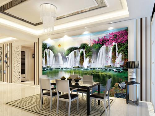 流水生财 工艺:平面UV120元/m²