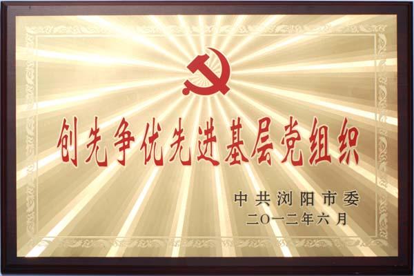创先争优先进基层党组织2012.6