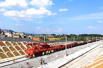 CCPG500型高速铁路无缝线路铺轨机组