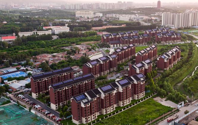 丰台区辛庄回迁安置房一期项目无动力太阳能