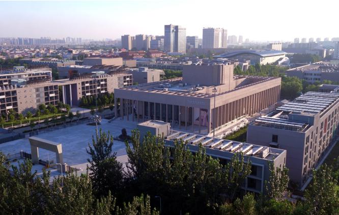 中央戏剧学院无动力集中太阳能系统