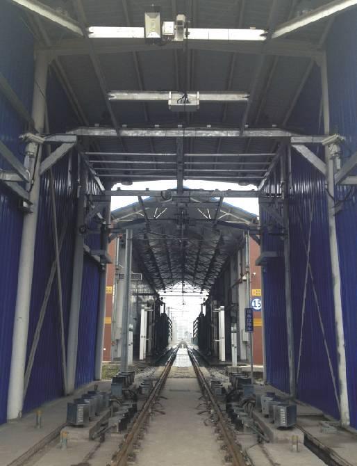 重慶1號線馬家巖輪對及受電弓在線檢測系統