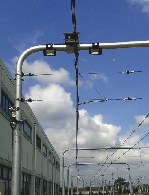 上海8號線受電弓在線檢測系統