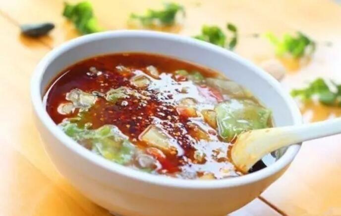 陕西牛肉丸胡辣汤