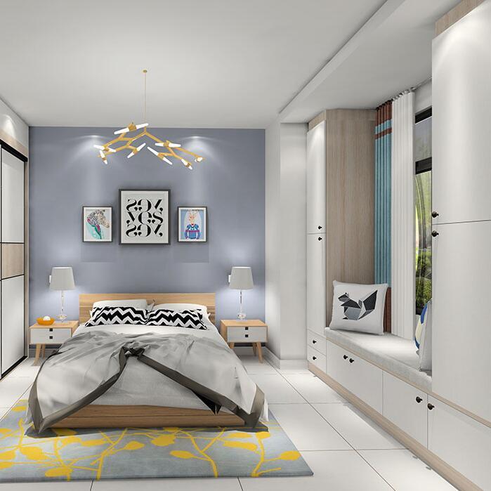卧室飘窗利用扩容改造 增大收纳空间
