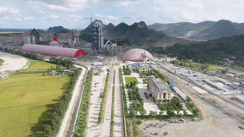 越南成勝6000t/d水泥生產線總承包項目及7MW余熱發電工程