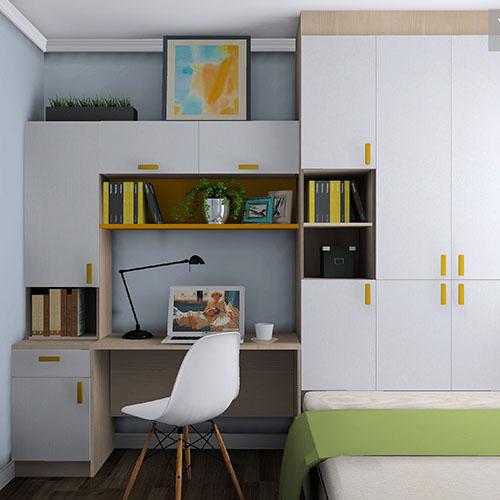 书房榻榻米 工作休闲于一体 扩容储物