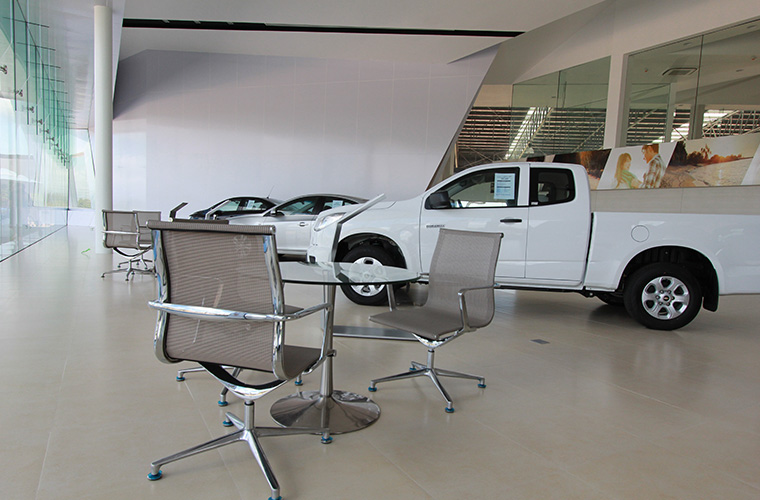 泰国-雪佛兰汽车销售店