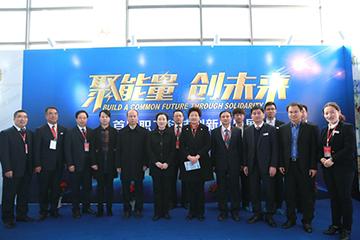 在现场和刘建媛主席一起来检阅企业创新发展成果