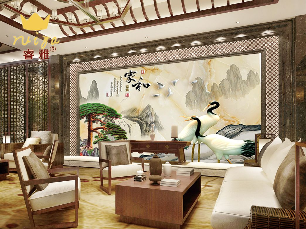家和富贵187 工艺:精雕UV190元/m²