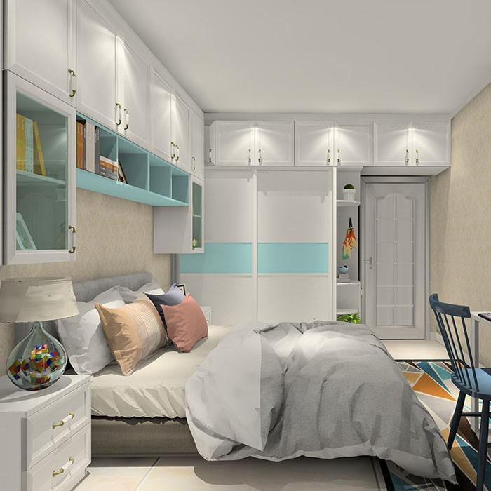 卧室超多柜子 满足收纳