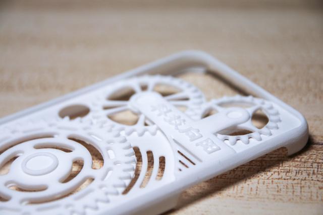 3D打印定制解压手机壳,有压力转一转