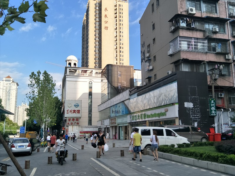 武汉军区总医院对面宾馆   急转