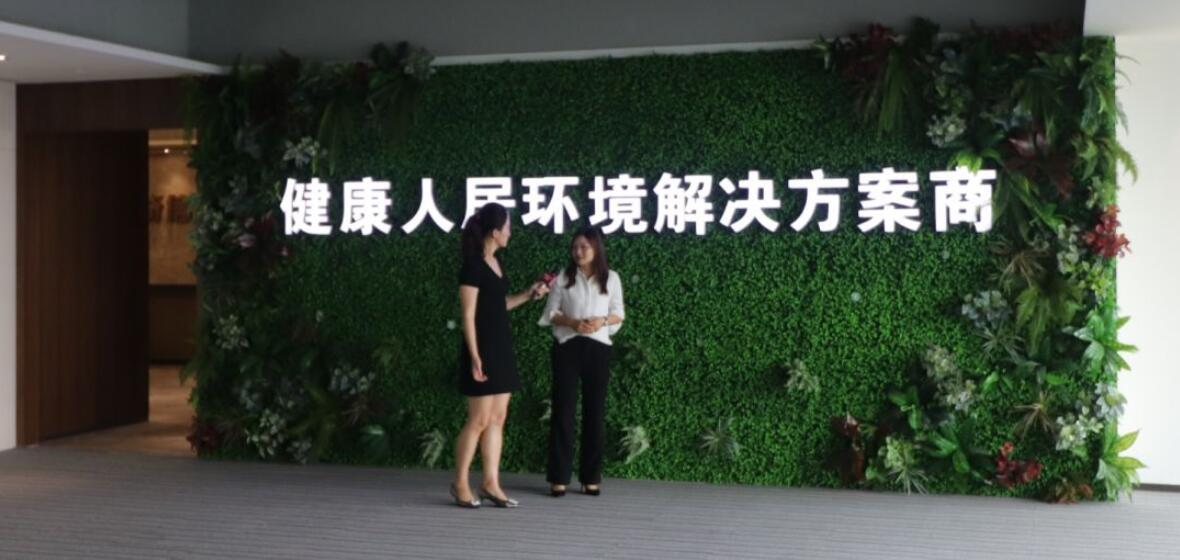 深圳卫视栏目组莅临奇信智能、奇信铭筑采访取景