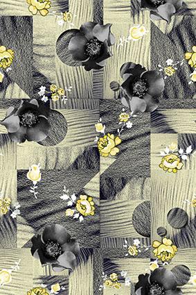 溶解沙海艺术花卉