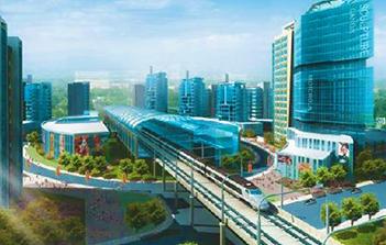上海地铁九号线松江新城站