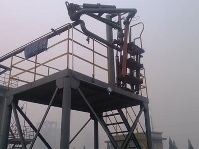 石油焦化行业可燃气体检测仪安装现场