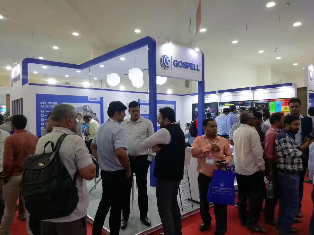印度SCAT2018卫星与有线电视展