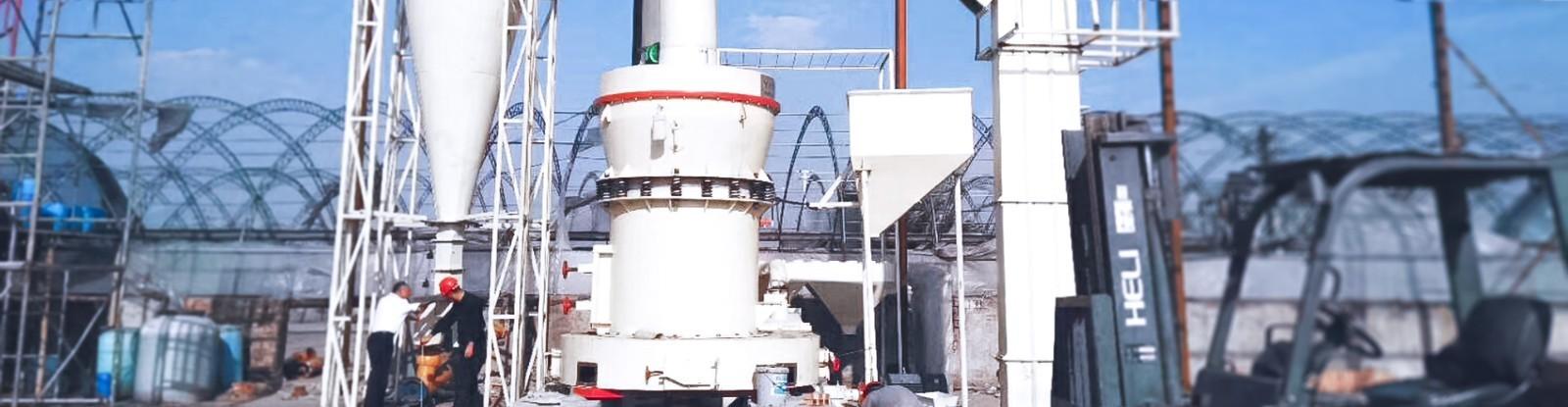 四川綿陽日產80噸膩子粉磨粉生產線