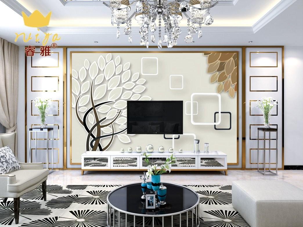 抽象树144 工艺:高温微晶600砖125元/m²
