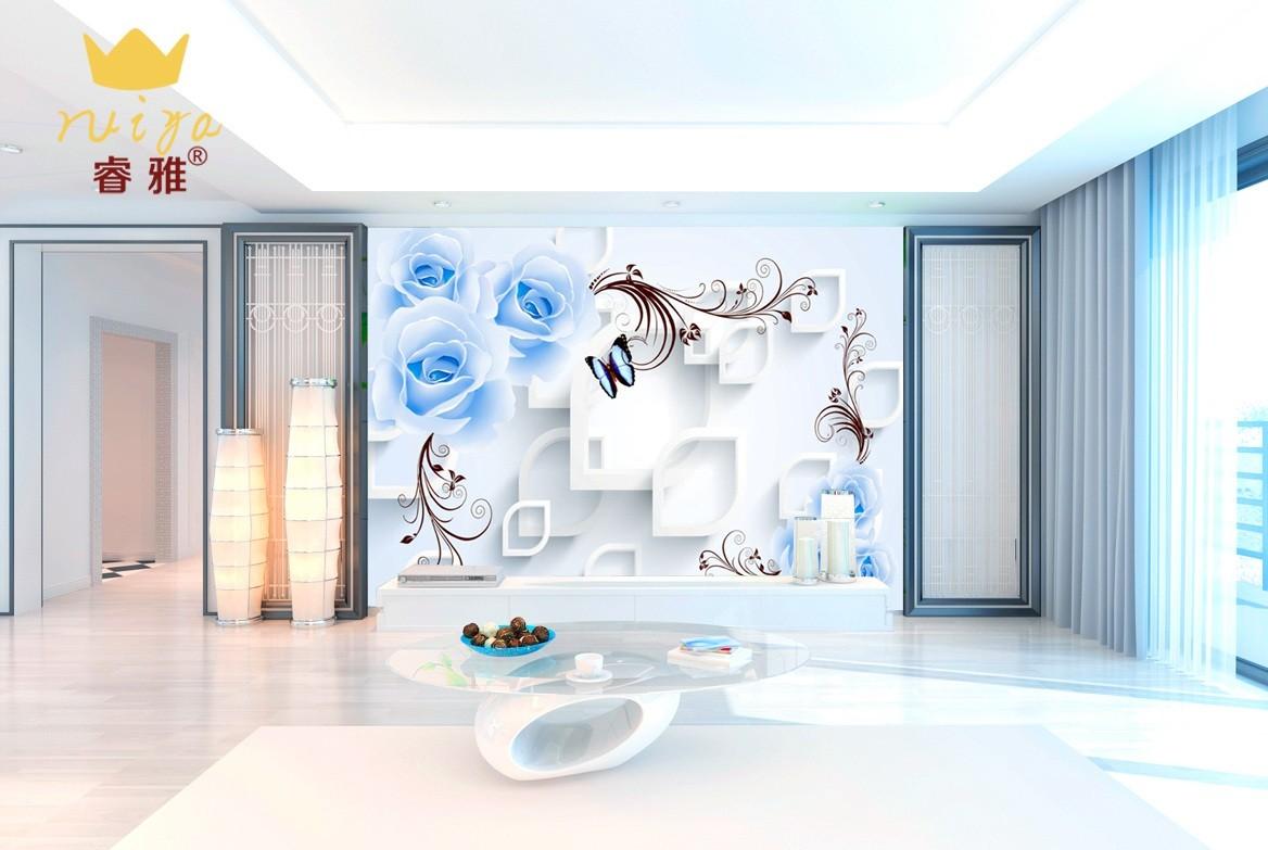 蝶恋花587 工艺:平面UV-120元/m²