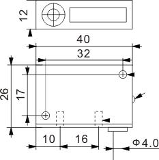 方型电感式接近开关 Q12