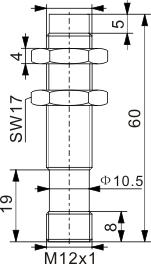 模拟量输出型电感式接近开关 M12