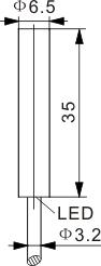 霍尔式接近开关 Ф6.5