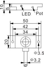圆柱型电容式接近开关 Q20