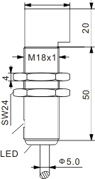 光电开关 M18