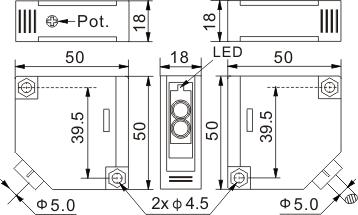 光电开关 Q50