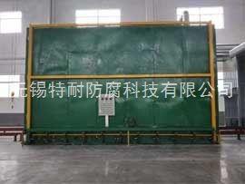 1号炉(8x3.5x3.5米)