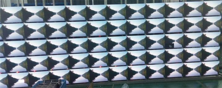 西安止园饭店宴会厅LED高清显示屏专用P1.923租赁箱体奥马哈