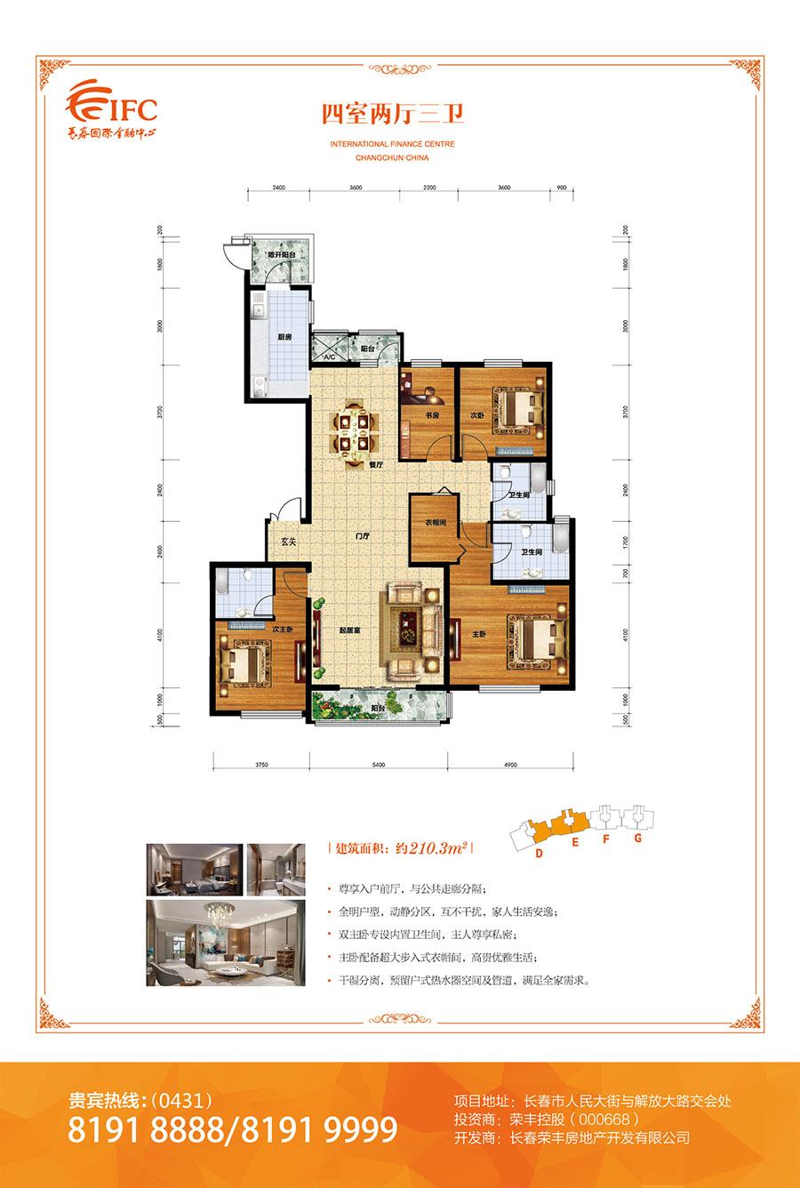 住宅户型-商业户型展示