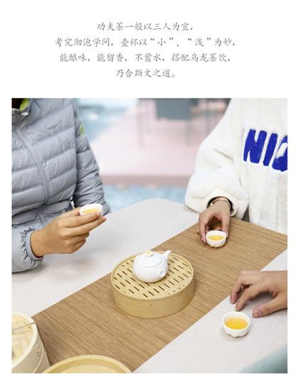 创意小笼包陶瓷功夫-茶盘旅行茶具